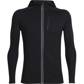 Icebreaker Quantum LS Zip Hood Jacket Men black